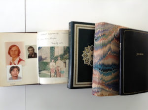 A variety of photo albums